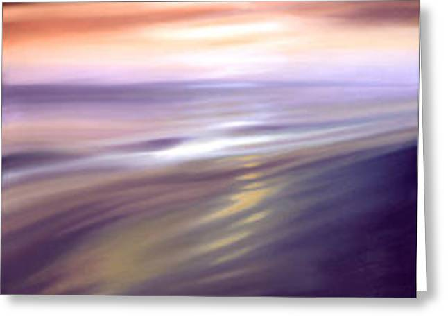 Beach Sunsets Sculptures Greeting Cards - Last Light Greeting Card by Frank Venton