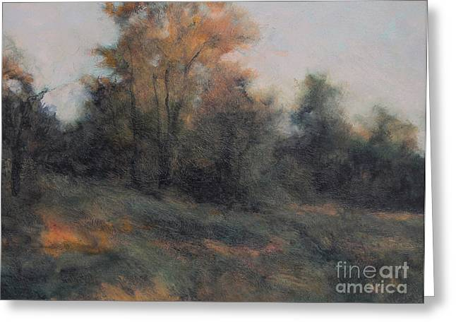 Muted Palette Greeting Cards - Last Light Greeting Card by Gregory Arnett