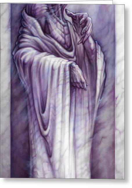 Michelangelo Greeting Cards - Last of the Light Greeting Card by David Bollt