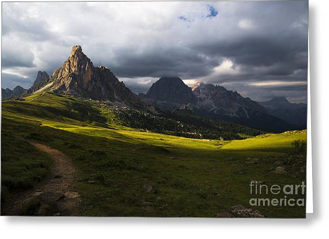 Italian Landscapes Greeting Cards - Last rays Greeting Card by Yuri Santin