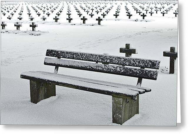 Last Resting Place Of Snowflakes Greeting Card by Dirk Ercken
