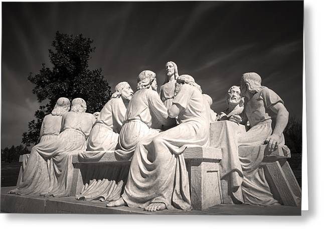 Last Supper Greeting Cards - Last Supper Greeting Card by Robert Fawcett