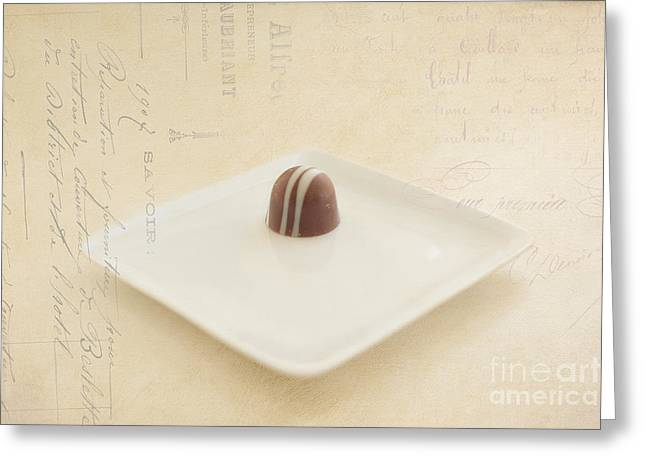 Kay Pickens Greeting Cards - Last Temptation Greeting Card by Kay Pickens