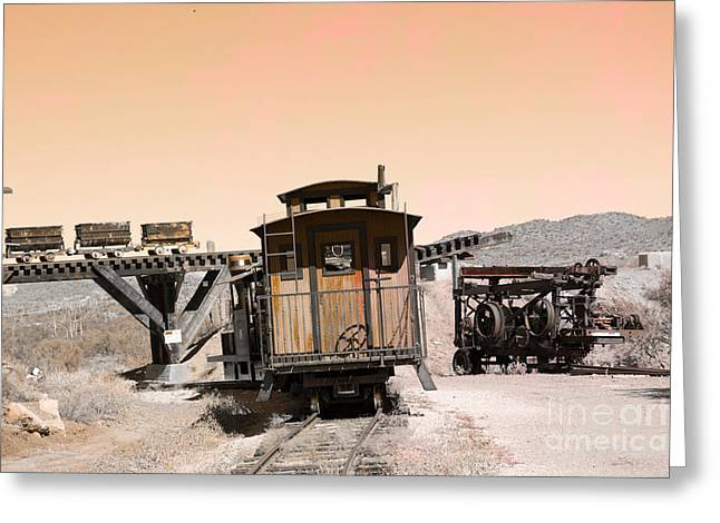 Last Train Home Greeting Card by Beverly Guilliams