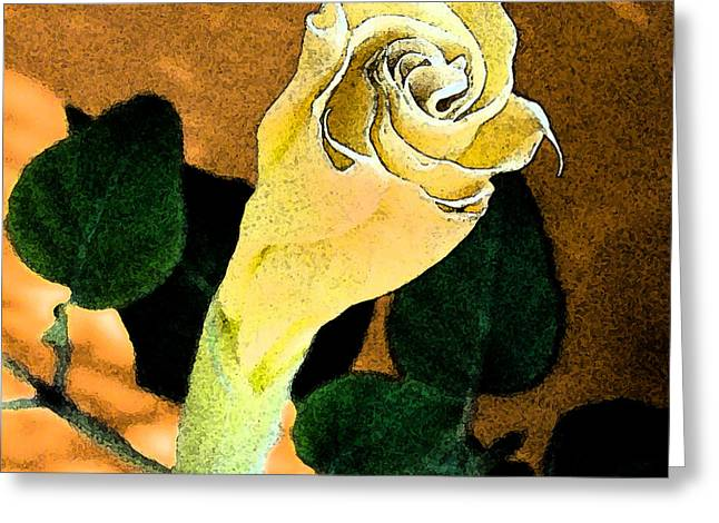 Late Bloomer Greeting Card by L T Sparrow