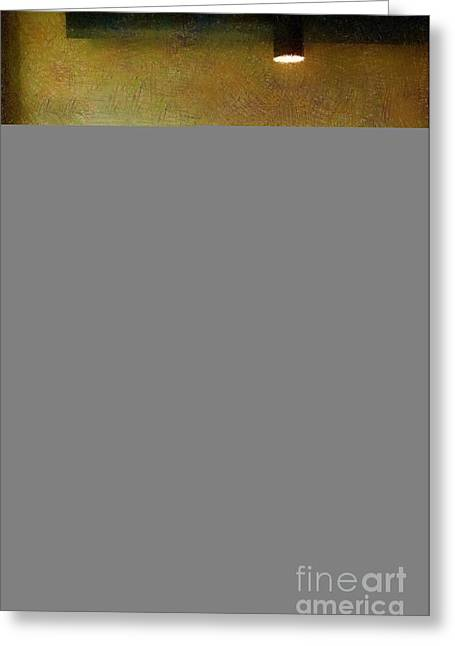 Interior Still Life Digital Greeting Cards - Late Night Cafe Greeting Card by RC deWinter