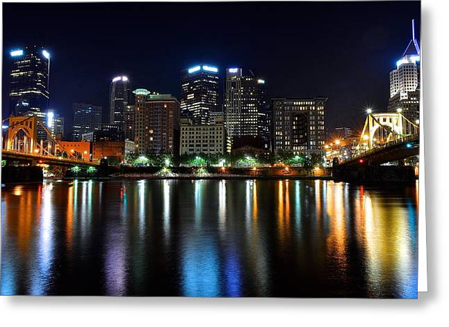Pa Greeting Cards - Late Night Out Greeting Card by Frozen in Time Fine Art Photography