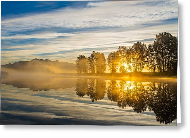 Peaceful Scenery Greeting Cards - Later Sunrises Greeting Card by James Wheeler