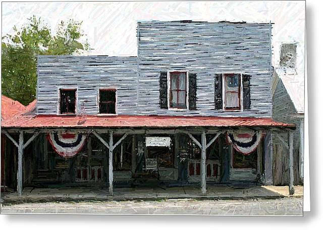 Latimore's Store - Perryville KY Greeting Card by Thia Stover