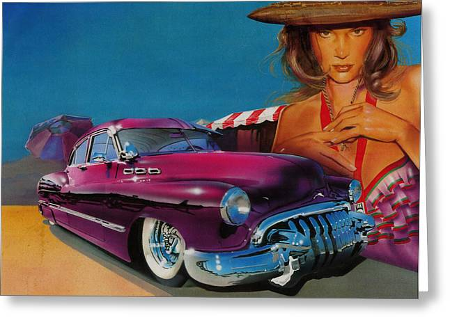 Lowrider Greeting Cards - Latin Culture Greeting Card by Luis  Navarro