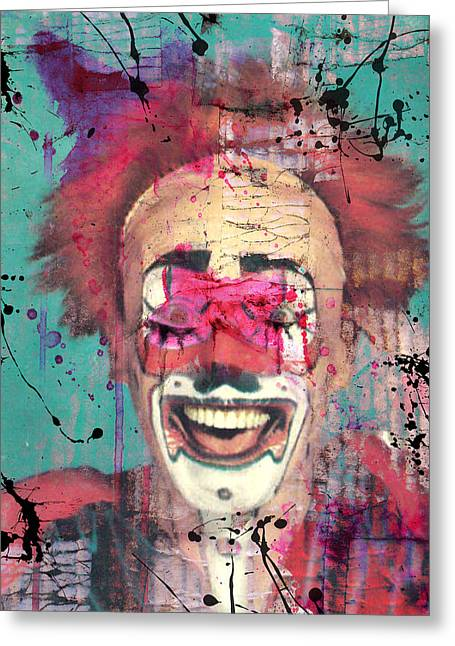 Kids Party Greeting Cards - Laughter I Purge  Greeting Card by Jerry Cordeiro