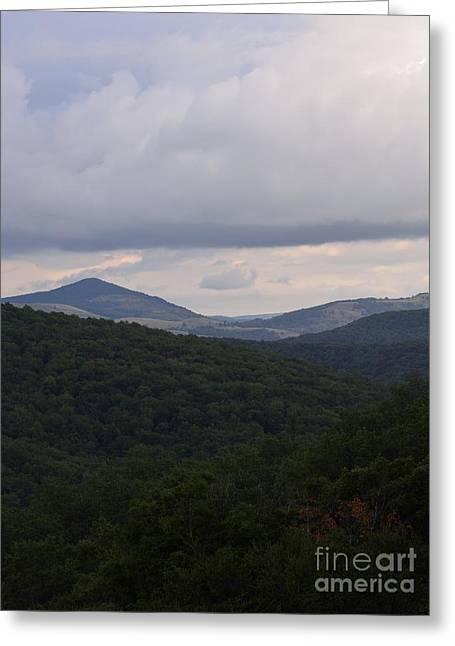 West Virginia Highlands Greeting Cards - Laurel Fork Overlook 1 Greeting Card by Randy Bodkins