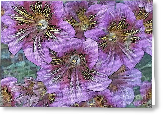 Santa Cruz Greeting Cards - Lavender dreams Greeting Card by Garnett  Jaeger