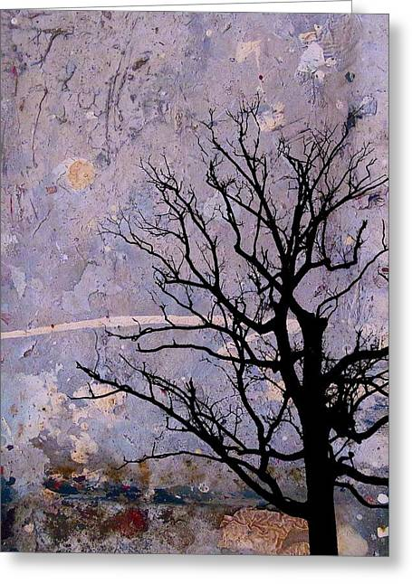 Fantasy Tree Art Greeting Cards - Lavender Skies Greeting Card by Jan Amiss Photography
