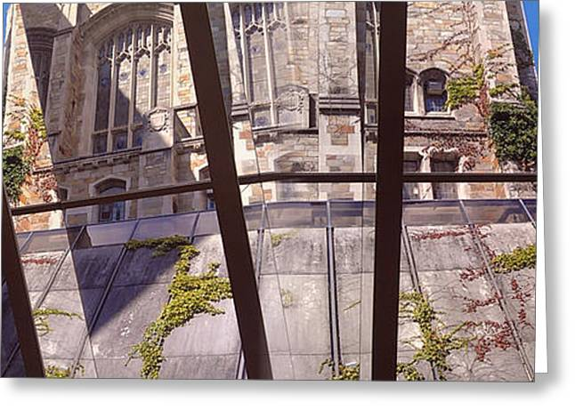 U Of M Greeting Cards - Law Library Pano -- University of Michigan Greeting Card by Anna Lisa Yoder