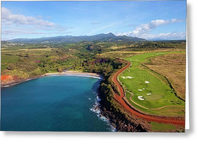 Lawai Valley, Kukuiula, Poipu, Kauai Greeting Card by Douglas Peebles