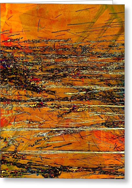 Industrial Concept Greeting Cards - Layers Greeting Card by Marcia Lee Jones