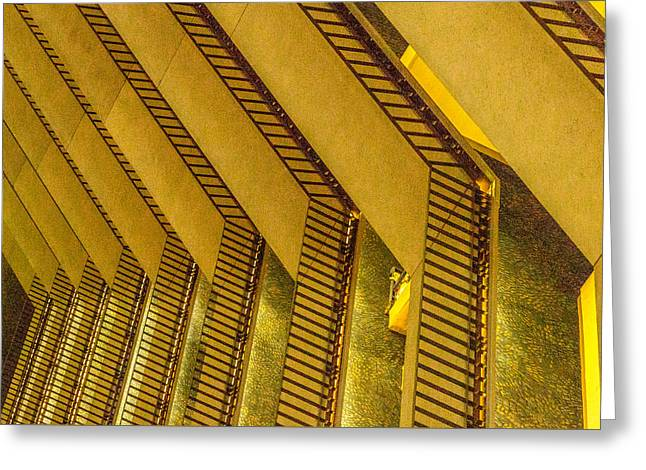 Downtown San Francisco Greeting Cards - Layers Upon Layers Greeting Card by Bill Gallagher