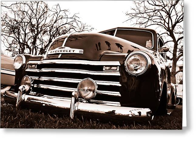 Kustom Greeting Cards - Laying Low Greeting Card by Merrick Imagery