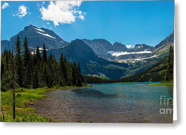 Gigapan Greeting Cards - Lazy Afternoon at Lake Josephine Greeting Card by John Freeman