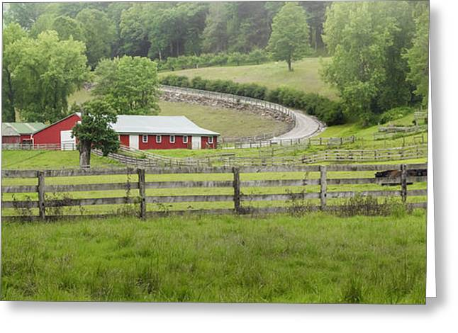 Connecticut Farms Greeting Cards - Lazy Hazy Summer Greeting Card by Bill  Wakeley