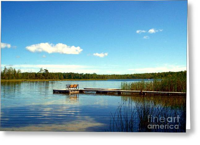 Desiree Paquette Greeting Cards - Lazy Summer Day Greeting Card by Desiree Paquette