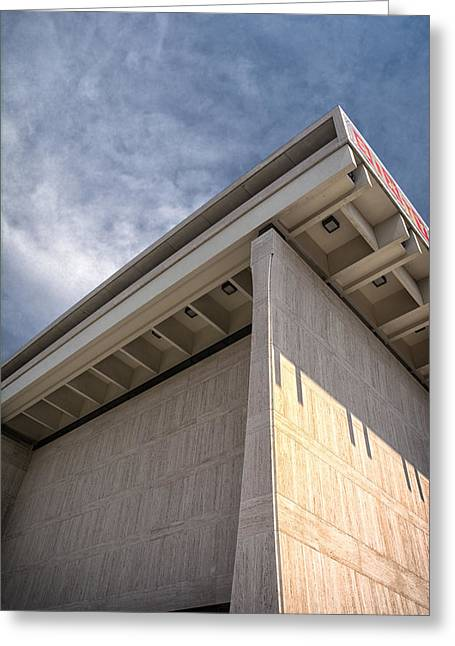 Historic Site Greeting Cards - LBJ Library and Museum Greeting Card by Joan Carroll