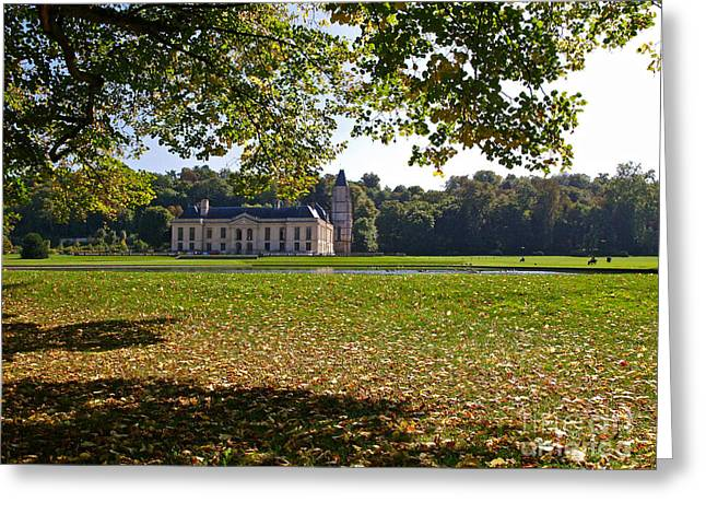 Chateau Greeting Cards - Le Chateau de Mery-sur-Oise Greeting Card by Alex Cassels