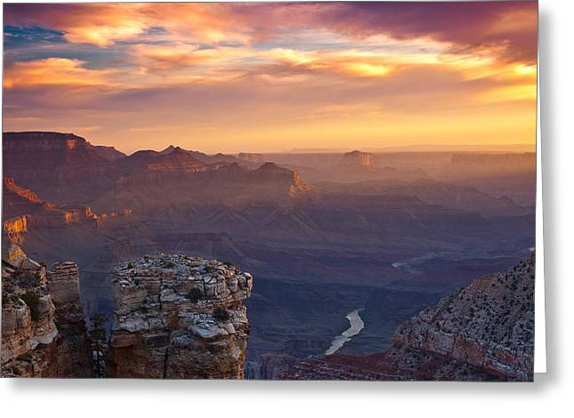 Epic Greeting Cards - Le Grand Sunrise Greeting Card by Darren  White