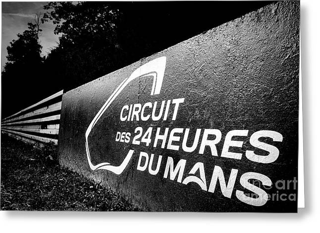 Twenty-four Greeting Cards - Le Mans Greeting Card by Olivier Le Queinec