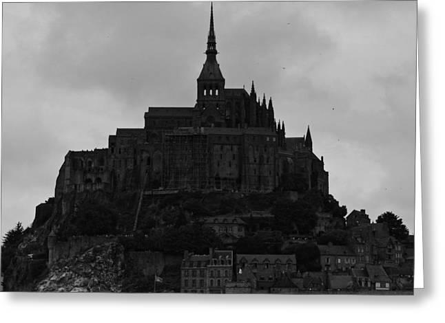 Le Mont Saint Michel Greeting Card by Aidan Moran
