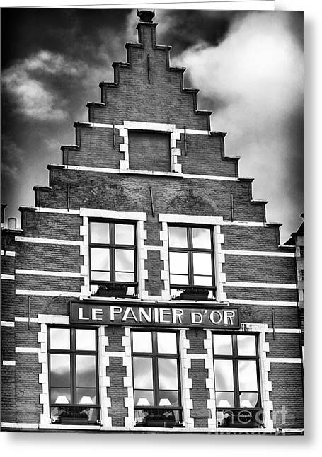 D.w. Greeting Cards - Le Panier DOR Greeting Card by John Rizzuto