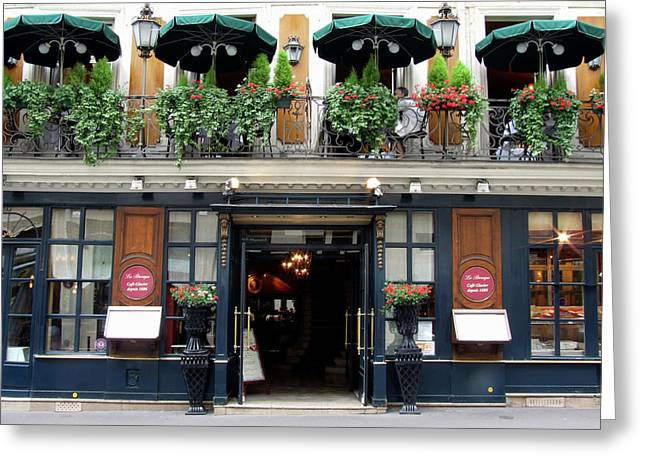 Le Procope, Cafe, Paris, France Greeting Card by Alex Bartel
