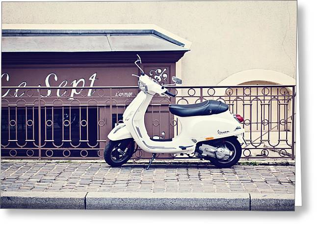 Italy Photographs Greeting Cards - Le Sept Greeting Card by Melanie Alexandra Price