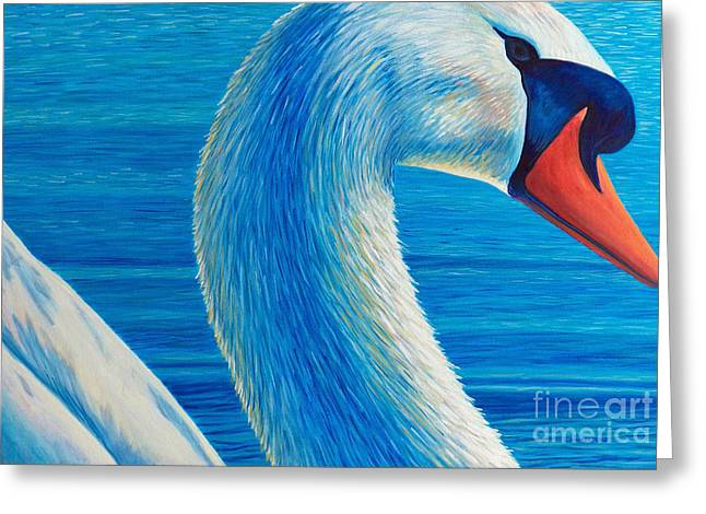 Lead Me Into Love Greeting Card by Brian  Commerford