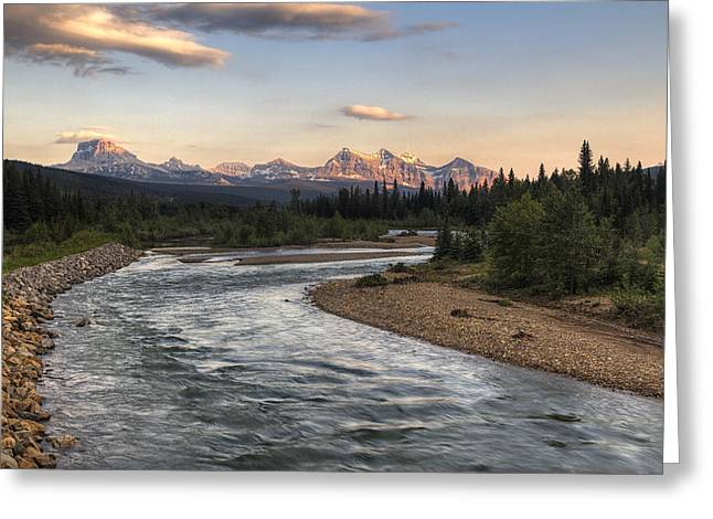 Alberta Rocky Mountains Greeting Cards - Leading to Sofa Greeting Card by Mark Kiver