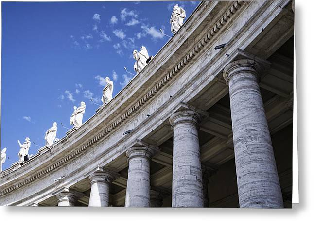 Religion Greeting Cards - Leading Upwards Greeting Card by Joan Carroll