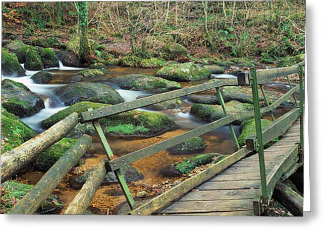 Becky Greeting Cards - Leap Of Faith Broken Bridge, Becky Greeting Card by Panoramic Images