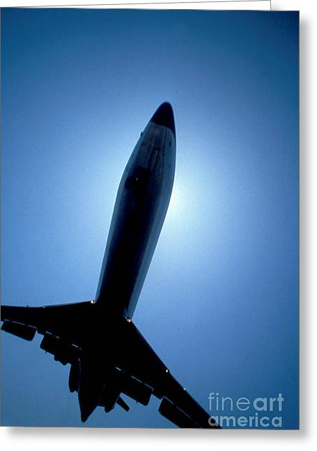 Jet Airplane Greeting Cards - Leaving on a Jet Plane Greeting Card by Jon Neidert