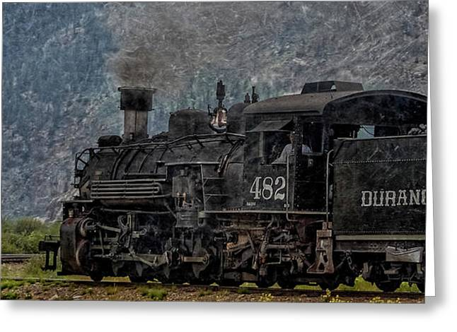 Old Town Digital Greeting Cards - Leaving Town DP Greeting Card by Ernie Echols