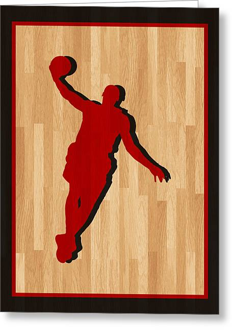 Lebron Photographs Greeting Cards - Lebron James Miami Heat Greeting Card by Joe Hamilton