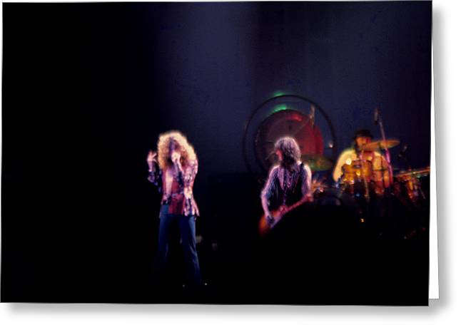 Led Zeppelin Artwork Greeting Cards - Led Zeppelin  Greeting Card by Kevin Cable