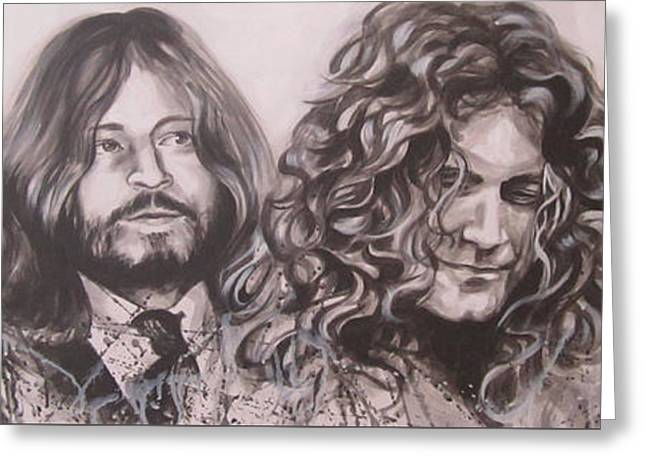 Led Zepplin Greeting Card by Bruce McLachlan