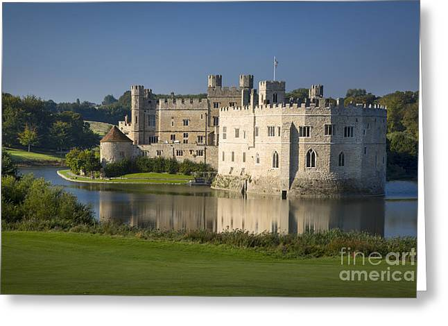 Aragon Greeting Cards - Leeds Castle Greeting Card by Brian Jannsen