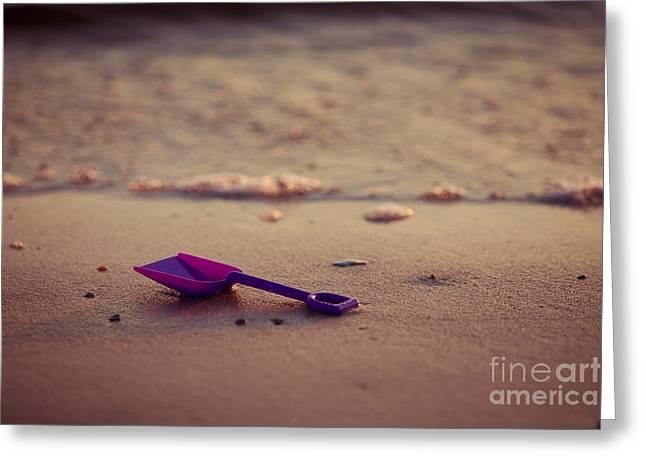 Left Behind Greeting Card by Joan McCool