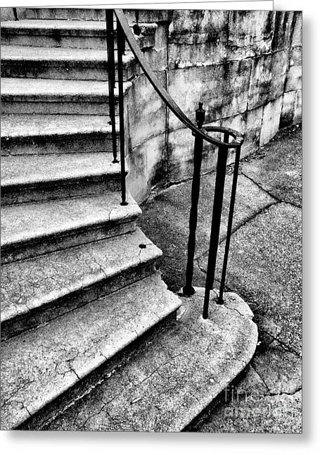 Stone Steps Greeting Cards - Left Side Steps Greeting Card by Paul W Faust -  Impressions of Light