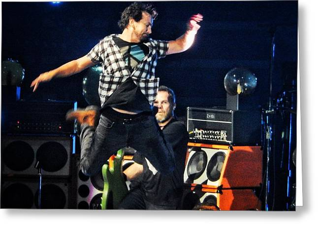 Pearl Jam Photographs Greeting Cards - Porch Greeting Card by David Powell