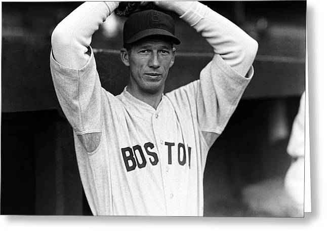 Lefty Grove Looking Forward At Camera Greeting Card by Retro Images Archive