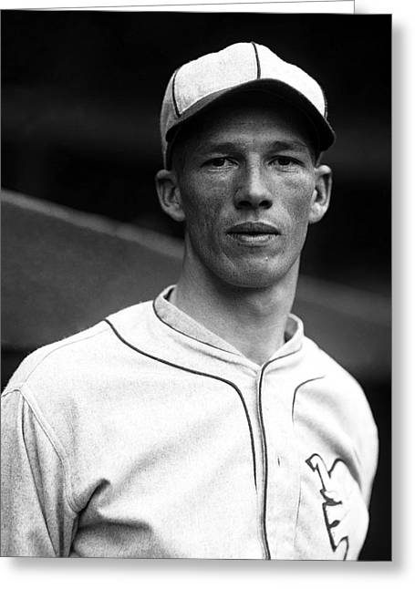 Boston Red Sox Greeting Cards - Lefty Grove Looking Forward Greeting Card by Retro Images Archive