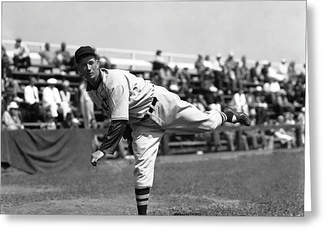Lefty Grove Working Out Before Game Greeting Card by Retro Images Archive